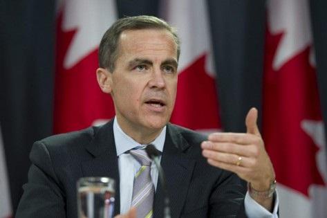 O governador do Banco do Canadá, Mark Carney, fala durante uma conferência de imprensa em Ottawa, no dia 19 de janeiro de 2011. (The Canadian Press / Adrian Wyld)