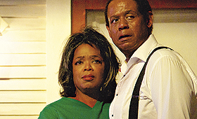 Oprah Winfrey e Forrest Whitaker em 'O Mordomo', filme que tem música de Rodrigo Leão