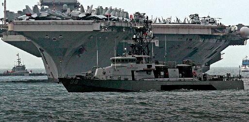 O Pentágono está a reposicionar meios navais no Mar Mediterrâneo, incluindo 'destroyers' com mísseis de cruzeiro