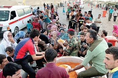 Mais de dois milhões de sírios estão refugiados em vários países em fuga do conflito