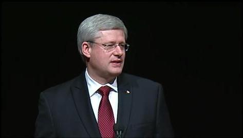 Primeiro-ministro Stephen Harper