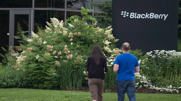 Sede da BlackBerry em Waterloo, Ontário (The Canadian Press / Geoff Robins)