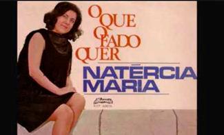 Capa de um disco da fadista Natércia Maria, falecida esta segunda-feira no Porto