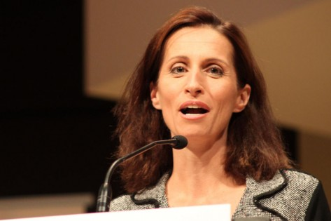 Sarah Thomson durante um debate para presidente na Universidade de York - 22 de setembro de 2010. CITYNEWS.CA/Shawne McKeown