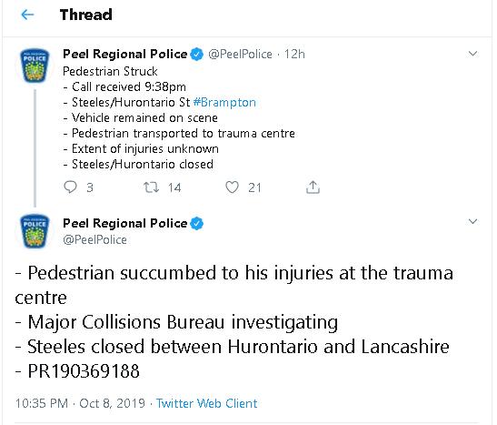Foto: Peel Regional Police/Twitter