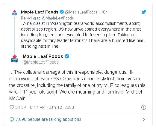 Foto: Maple Leafs Foods Twitter