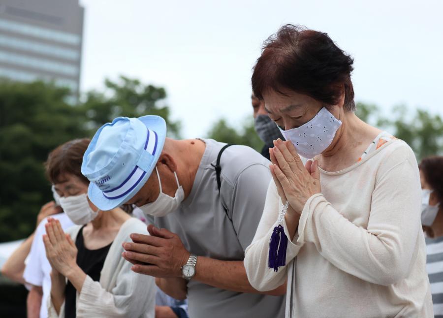 HIROSHIMA ASSINALA 75.º ANIVERSÁRIO DO BOMBARDEAMENTO COM APELOS À  ASSINATURA DE TRATADO NUCLEAR - Correio da Manhã Canadá
